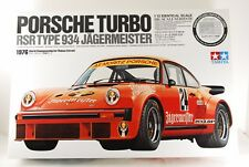 TAMIYA 1/12 PORSCHE TURBO RSR TYPE 934 ETCHED PARTS INCLUDED VERY RARE!
