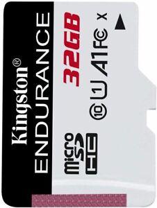 Kingston High Endurance MicroSDHC Card 95MBs Class 10 32GB