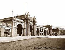 Union Railroad Station, Columbus, Ohio - 1904 - Historic Photo Print