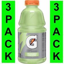 Gatorade Lime Cucumber/Limón Pepino 32 oz 3 Bottle Pack