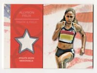 2012 Topps USA Olympic Team Relics Allyson Felix Track and Field Gold Medalist