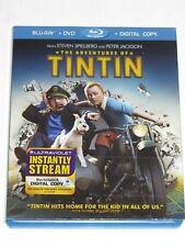 The Adventures of Tintin (Blu-ray/DVD, 2012, 2-Disc Set, Includes Digital Copy U