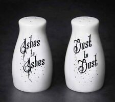 More details for alchemy england - ashes to dust salt & pepper set, death pagan spell gothic gift