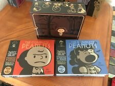 THE COMPLETE PEANUTS  18 HARDCOVER BOOKS 1950 - 1986 CHARLES M. SCHULZ
