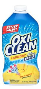 OxiClean Laundry Stain Remover Spray Refill 56 Oz