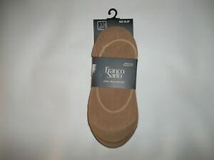 FRANCO SARTO Nude Tan Soft No Show 6 Pair Shoe LINER SOCKS Womens One Size NEW
