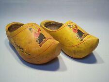 Vintage Advertising Imported Heineken Holland Beer Wooden Dutch Shoes