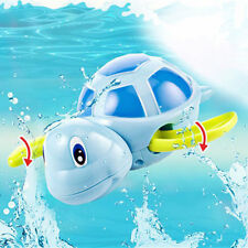 Baby Toys Little Turtle Bath Toys Animal Water Swimming Pool Toy Random Color WO