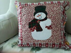 Handmade Christmas Pillows