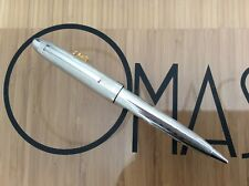 OMAS OGIVA S2001 BALL PEN 925 STERLING SILVER  *NEW FROM FACTORY *
