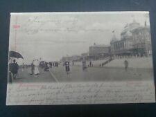 Nederland ansichtkaart Scheveningen Promenade verzonden 1899 naar Dortmund