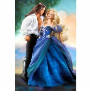 Jude Deveraux the Raider Barbie and Ken Gift Set Romance Novel Collection