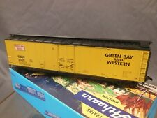 HO Scale HO scale Details West Green Bay Western Box car GBW