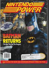 Nintendo Power #48 Zelda Link's Awakening Batman Returns Poster & Cards 1993