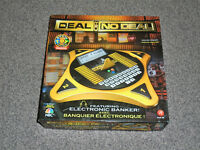 DEAL OR NO DEAL : ELECTRONIC BANKER EDITION GAME - RARE IN VGC (FREE UK P&P)