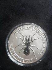 1 Oz Dollar 2015 Australian Australia spider Silver Argent