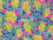 Local Flavor Lilly Pulitzer Cotton Dobby Fabric BTY x 57""