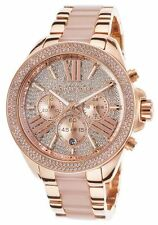 Michael Kors MK6096 Wren Pavé Acetate Wrist Watch For Women FreeShipping