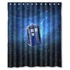 Doctor Who Tardis Durable Nebula Galaxy Waterproof Shower Curtain 60 x 72 Inch
