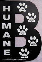 B Humane Car Truck Refrigerator Magnet Helps Benefit Animal Charity