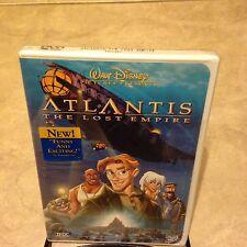 Atlantis Lost Empire DVD NEW factory sealed w/ Buena Vista logo on theshrinkwrap