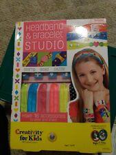 Faber-Castell Creativity for Kids Headband & Bracelet Studio Brand New in Box