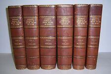 HOLINSHED'S CHRONICLES OF ENGLAND SCOTLAND & IRELAND. 6 Volume Set. 1807-1808