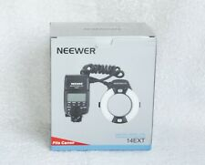 Flash anulare Neewer Macro Ring Lite 14EXT (E-TTL for digital)