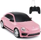 RASTAR Rc Beetle Volkswagen, 1:24 Scale Kids Remote Control Racing car, Pink Rc