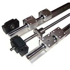 Kit CNC 12x1000mm Vis à billes C7 + Paliers + Guidage lineaire de précision DIY