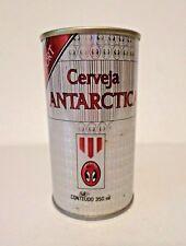 Vtg Scarce Narrow Seam Beauty Cerveja Antarctica Export Straight Steel Beer Can