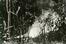 "Marine with Flame Thrower New Georgia South Pacific 4""x 6"" World War II Photo 5"