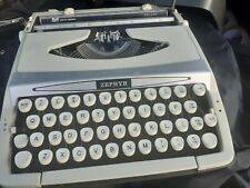 More details for smith corona zephyr portable typwriter (good condition ) with case .