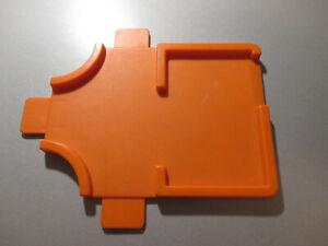 Matchbox; Zubehör;1978; orange; Parkhaus; Spielstrasse; Autogarage; Kreuzung;