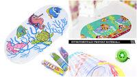 Cartoon Design Non Slip Suction Mat Clear Quackers Kids / Childs Bath Shower Mat