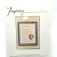 Counted Cross Stitch Kit The Road Ahead Prayer Thomas Merton Imaginating 335
