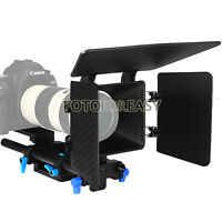 FOTGA DP500 Baseplate Rail rod & Matte Box support follow focus DSLR 5D 60D 600D