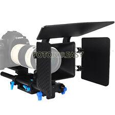 FOTGA DP500 Baseplate Rail rod & Matte Box support follow focus DSLR 5D 60D 600D