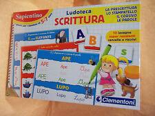 SAPIENTINO LUDOTECA SCRITTURA   5-7 anni   cod.6414