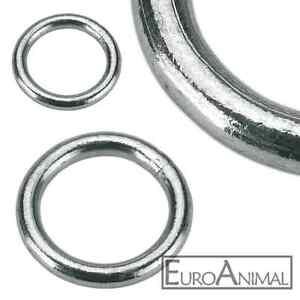 Stahl Ringe verzinkt verschiedene Größen Metallring Ring Rundring Eisenring
