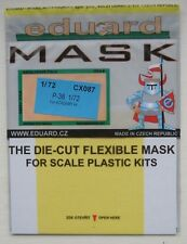 Eduard 1/72 CX087 Canopy Mask for the Academy Lockheed P-38J Lightning