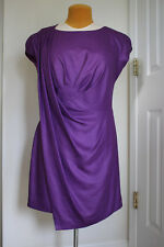 *NEW* BCBG Max Azria Runway Purple Cocktail Dress Size 10