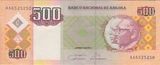 ANGOLA BANKNOTE P# 149  500 KWANZAS  2011 PREFIX AA  EXTREMELY FINE USA SELLER