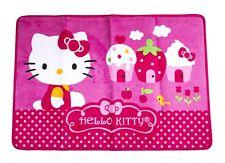 Hello Kitty Microfiber Rug - Bathroom Bedroom Girls Teen Room