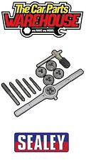 Sealey High Carbon steel Tap & Die Set 12pc - Metric