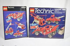 Lego Box Manual Tray and Inserts For 8064 Technic Vintage 1981 Set