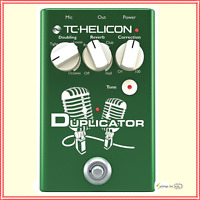 TC-Helicon Duplicator - Vocal Effects Stompbox Pedal