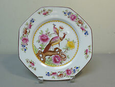 """ANTIQUE F. WINKLE & CO WHIELDON WARE """"OLD CHELSEA"""" 8-SIDED SQUARE PLATE"""