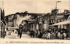 CPA ST VALERY en CAUX La Terrasse du Casino á l'heure de la Musique (416378)