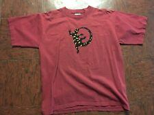 Adult Xl Novelty T-Shirt Gecko Lizard Neon men women teen